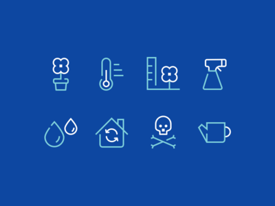 Style exploration - outline icons
