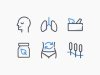 Custom icon style exploration by Xicons.studio