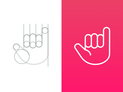 Icon keyline shapes