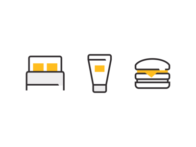 Custom illustrative icon system by Xicons.Studio