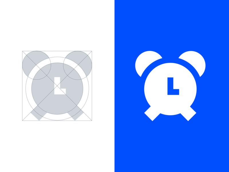 Icon grid premium icons software application alarm icon designer iconography material glyph filled icons ui icons icon set icon design grid logo grid icon