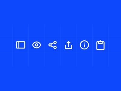 Enterprise UI Iconography