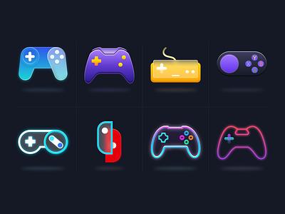 Controller icon figma design ui