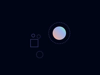 Lyncabank — Say Bye to Card Fees geometric shapes animation abstract ui web visual landingpage landing illustration