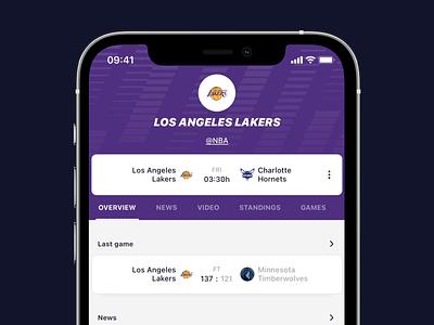 Sportening — Overview graphics visual basketball football design web animation sport ui mobile design mobile app mobile