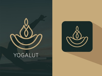 Yoga Logo Design | Modern Logo 2021 minimalist eye catching logo design meditation simple logo creative icon vector logo illustration branding minimal logo smrity6032 modern logo yoga logo