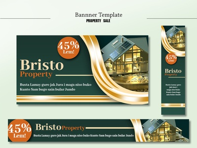 Property Sale Banner Template