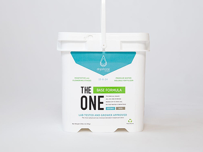 Dripstone Nutrients Packaging Design