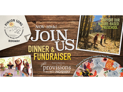 Social Poster Design - Dinner invite poster banner