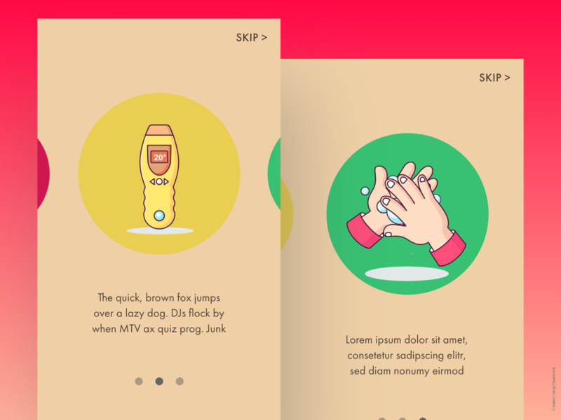 Covid App Onboarding app onboarding dailyui dailyuichallenge design ui