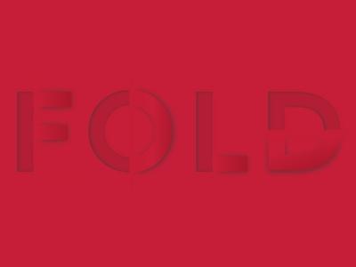 Folded Web Typography