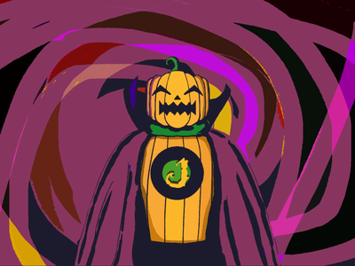 Doctor Jack 🎃 - Jack O'lantern - Pumpkinhead/Squashhead villain squash spooky season spooky scary pumpkin octoberfest october jack o lantern jack hero halloween design halloween doctor design concept art concept characterdesign character antihero
