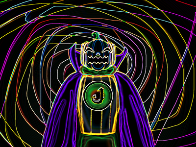 Doctor Jack - Hell version 🎃 - Jack O'lantern villain squash spooky season spooky scary pumpkin octoberfest october jack o lantern jack hero halloween design halloween doctor design concept art concept characterdesign character antihero