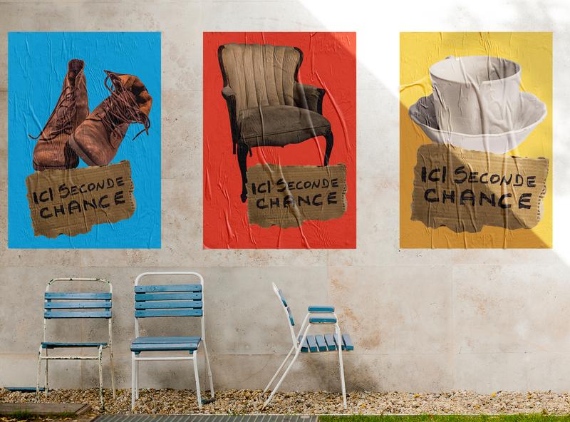 """Poster """"Mon chez nous"""""""