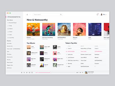 Music Player web ui musicplayer dailyui design daily 100