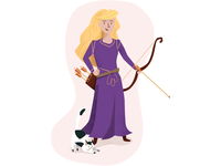 Princess Sadie the Archer