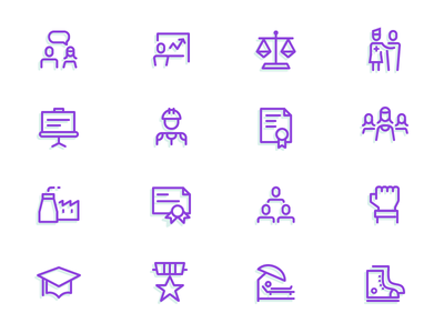 Menu Icons vector line icons resources what-we-do