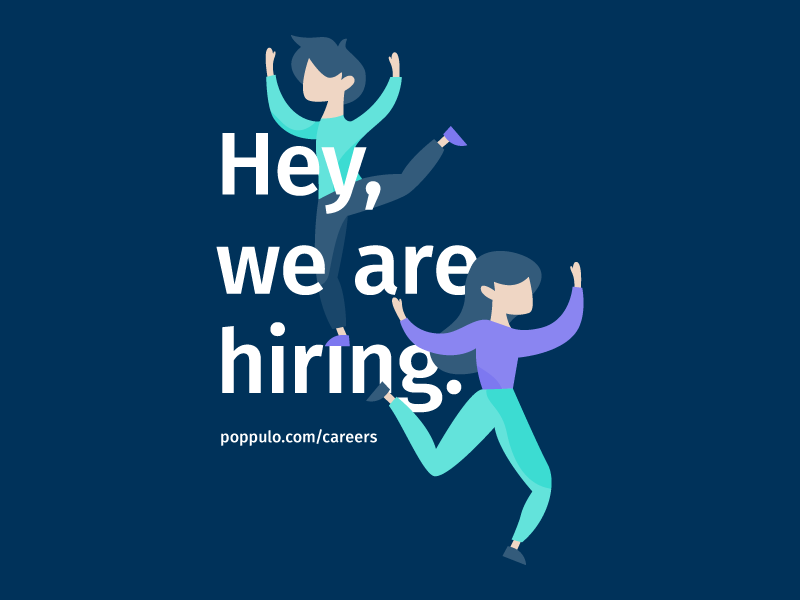 We are hiring dribbble