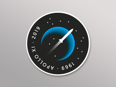 Apollo XI Badge