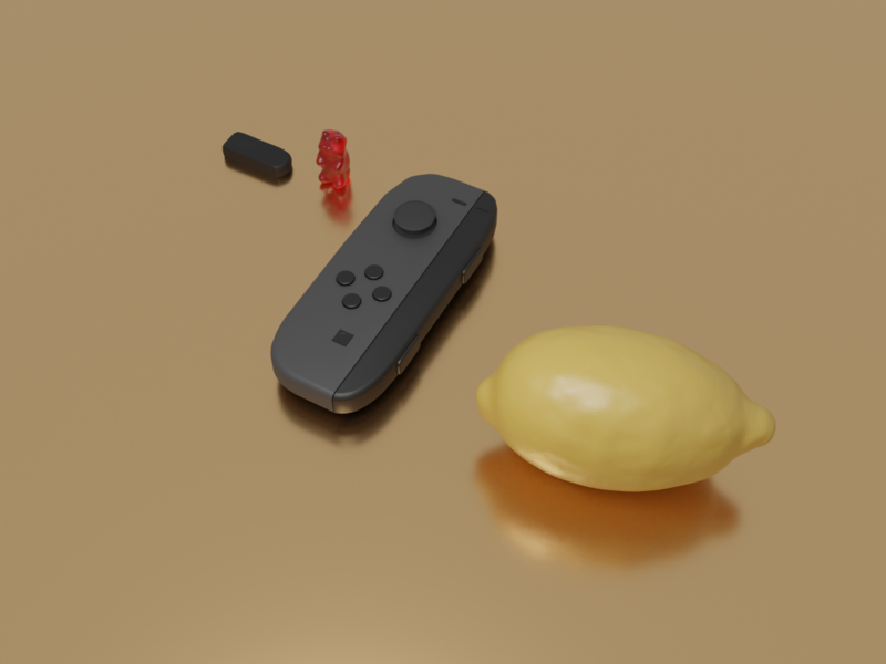 Fun With Blender lemon nintendo switch 3d