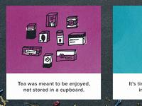 tea web + icons