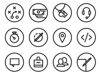Pure Charity Feature Icons