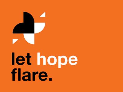 let hope flare.