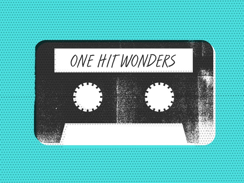 One-Hit Wonders onehitwonder spotify playlist tape dots texture illustration cassette