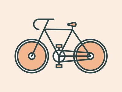 Neighborhood Bike Icon