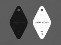 The Way Home - Keychain