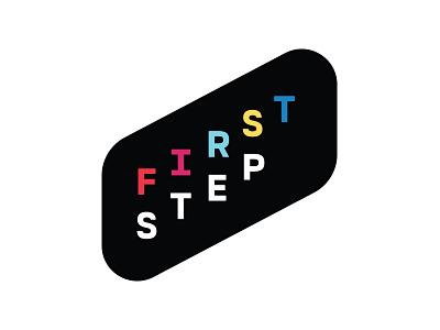 First Step Branding design icon identity logo badge church branding