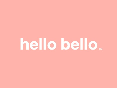 hello bello wordmark