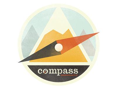 Mountains logo compass vcc