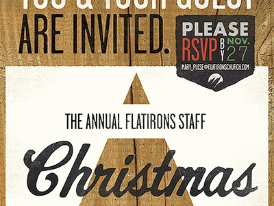 Staff Invite Mockup. flatirons community church church flatirons