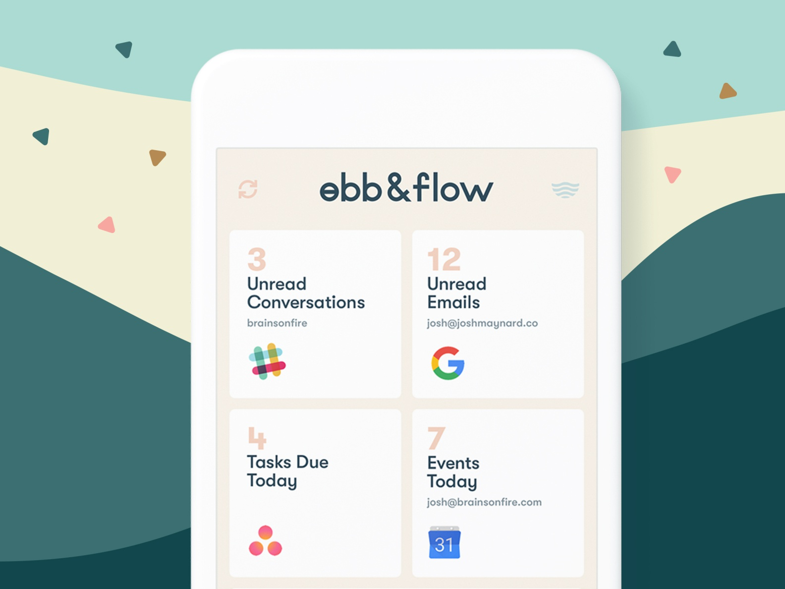 Ebb & Flow - A UX Case Study