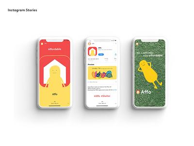 Affo - Mobile Game for Social Housing x YCN Shelter shelter graphic design ycn mobile game