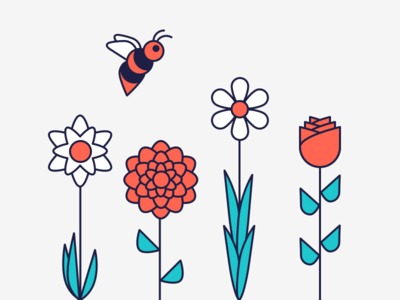 Spring Flowers illustration flowers spring