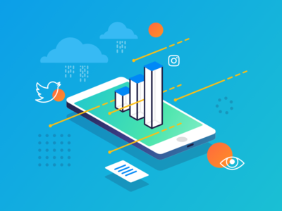 Data Driven Marketing marketing data driven illustration