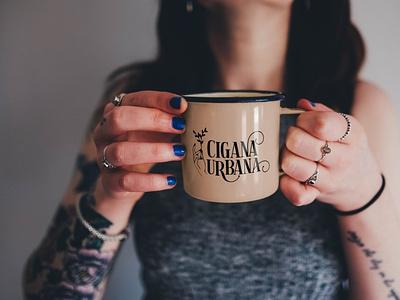 Cigana Urbana logo design branding