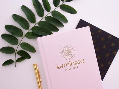 Luminosa design logo branding