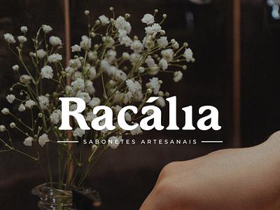 Racália Sabonetes Artesanais logo design logo artesanais sabonetes racalia