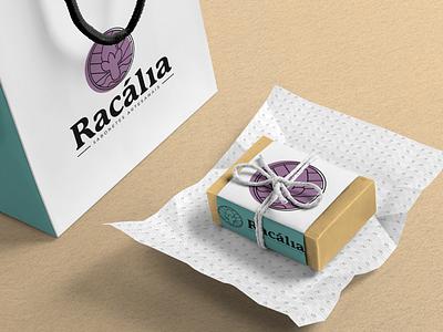 Racália Sabonetes Artesanais soap identity branding identity logo design