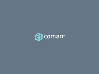 Coman™ Logo Design / Brand Mark