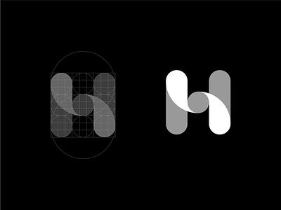 Inhouse Logo Design grid construction blockchain bitcoin friendly modern payment transaction banking bank finance icon symbol mark logotype identity logo design branding