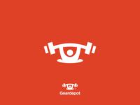 Iconic Geardepot Logo Design