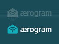 Iconic Aerogram Logo Approved Redesign