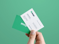 Mojn Logo Design / Business Card