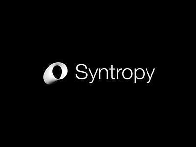 Syntropy Identity Concept dynamic corporate identity identity crypto syntropy blockchain tech 3d logo logo design branding