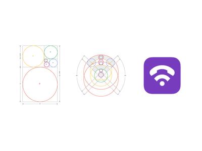 Viber Brand Mark Logo Construction