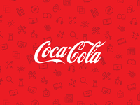 Cocacola pattern